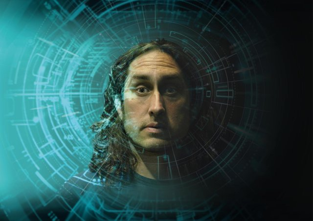 See Ross Noble in his latest stand-up show Humournoid