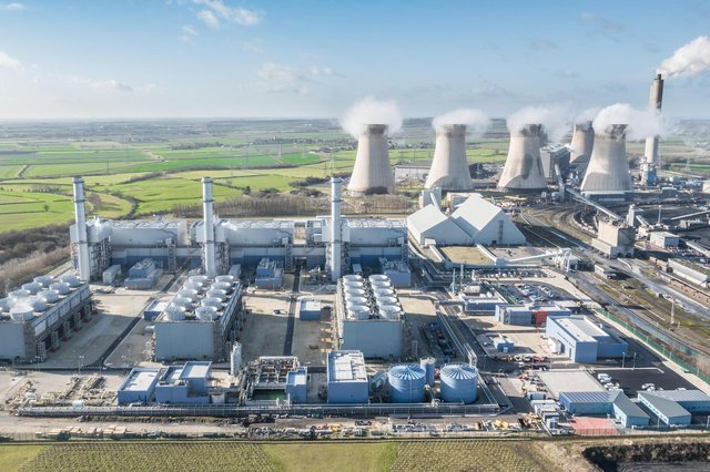 West Burton B CCGT power station